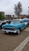 Car show in Rotherham for the Right Royal Vintage Hop