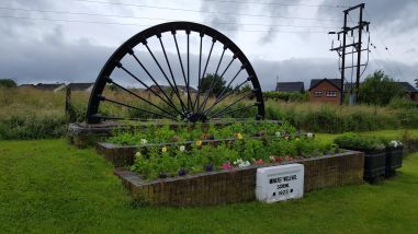 Treeton Miners' Welfare memorial