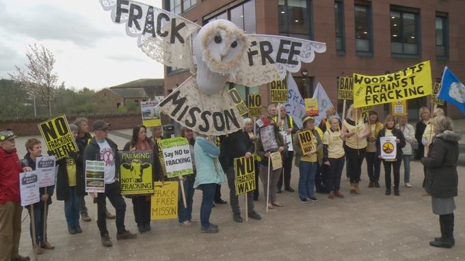 fracking ITV Yorkshire